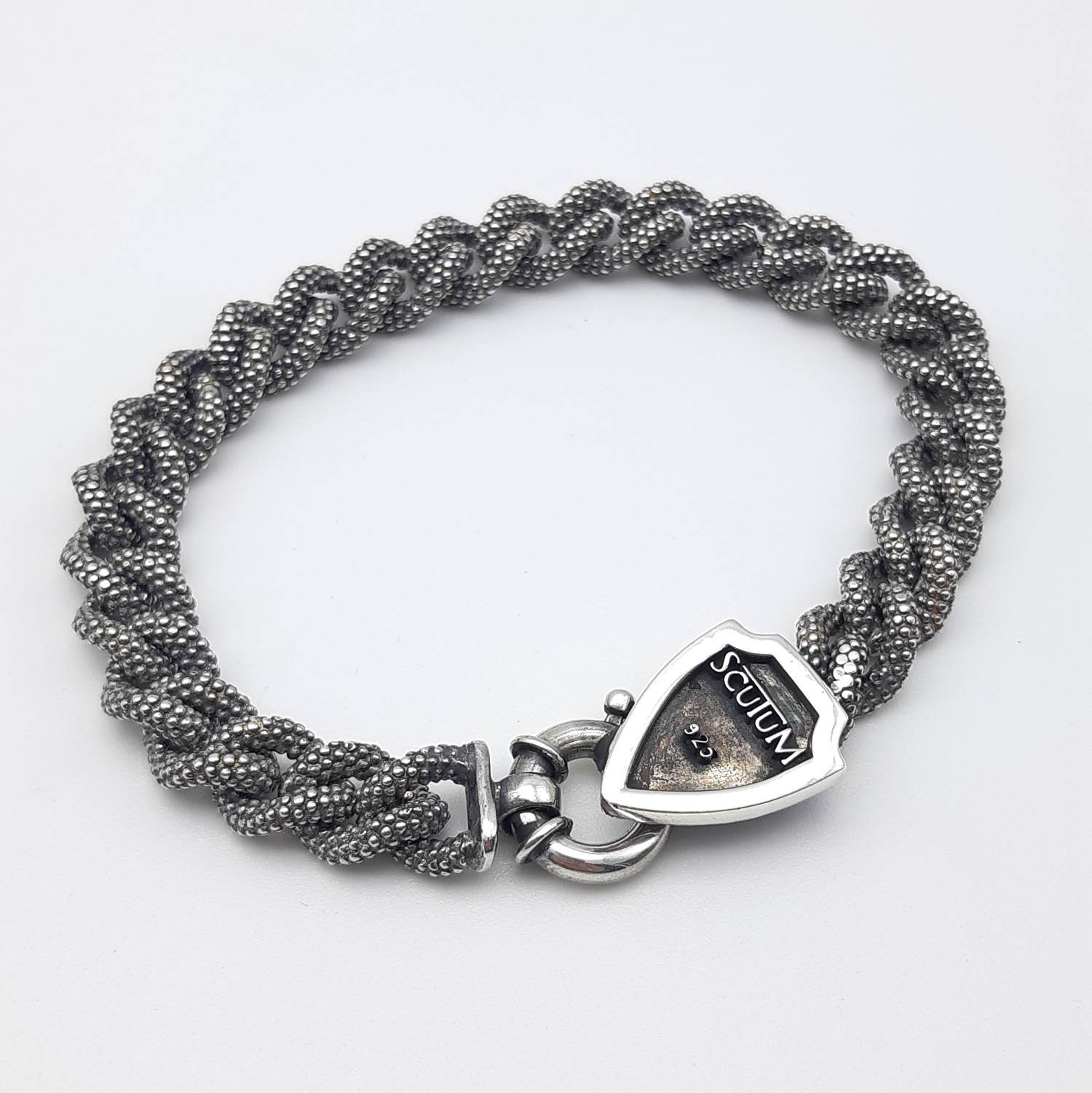 BRACCIALE BLACK GROUMETTE