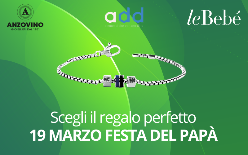 Festa del papà: regala i charms Add di leBebè!
